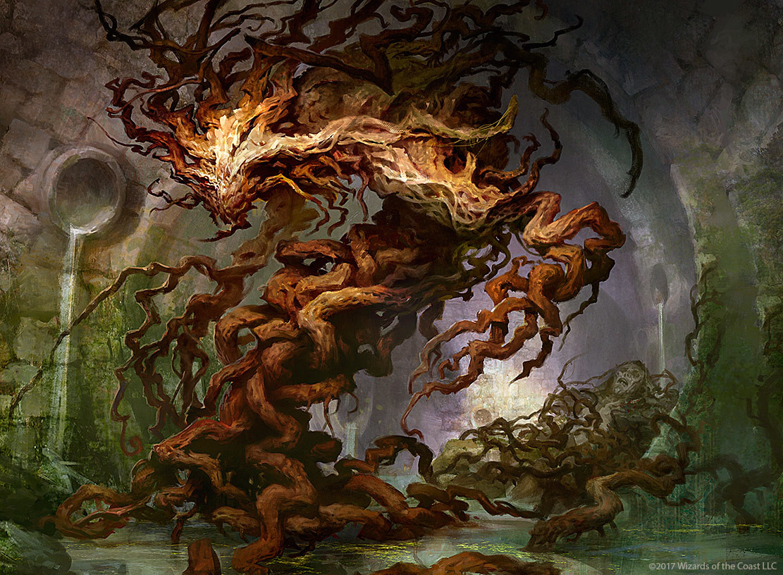 Resultado de imagen de golgari germination art