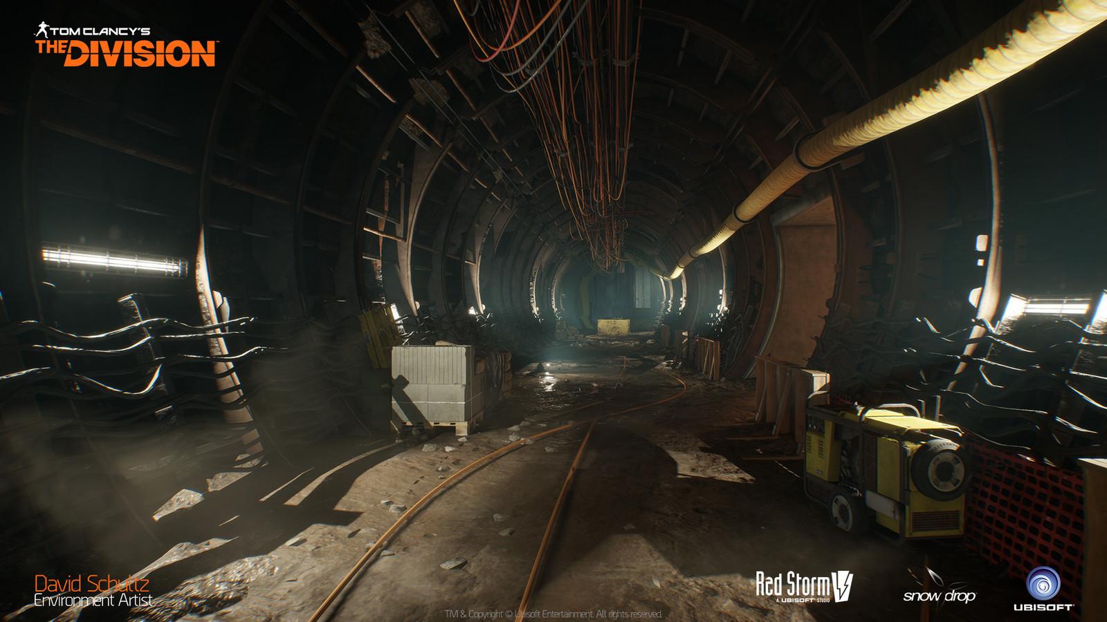 Last Stand Underground Rail Tunnel 01