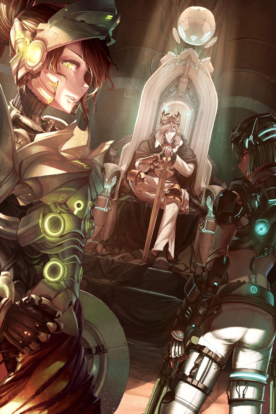 RWBY-Future : King
