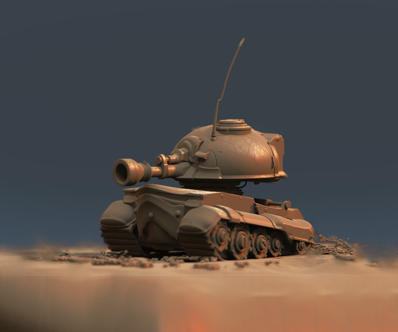 model out of 3dcoat