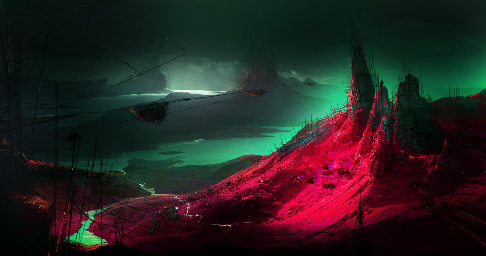 toxic mine