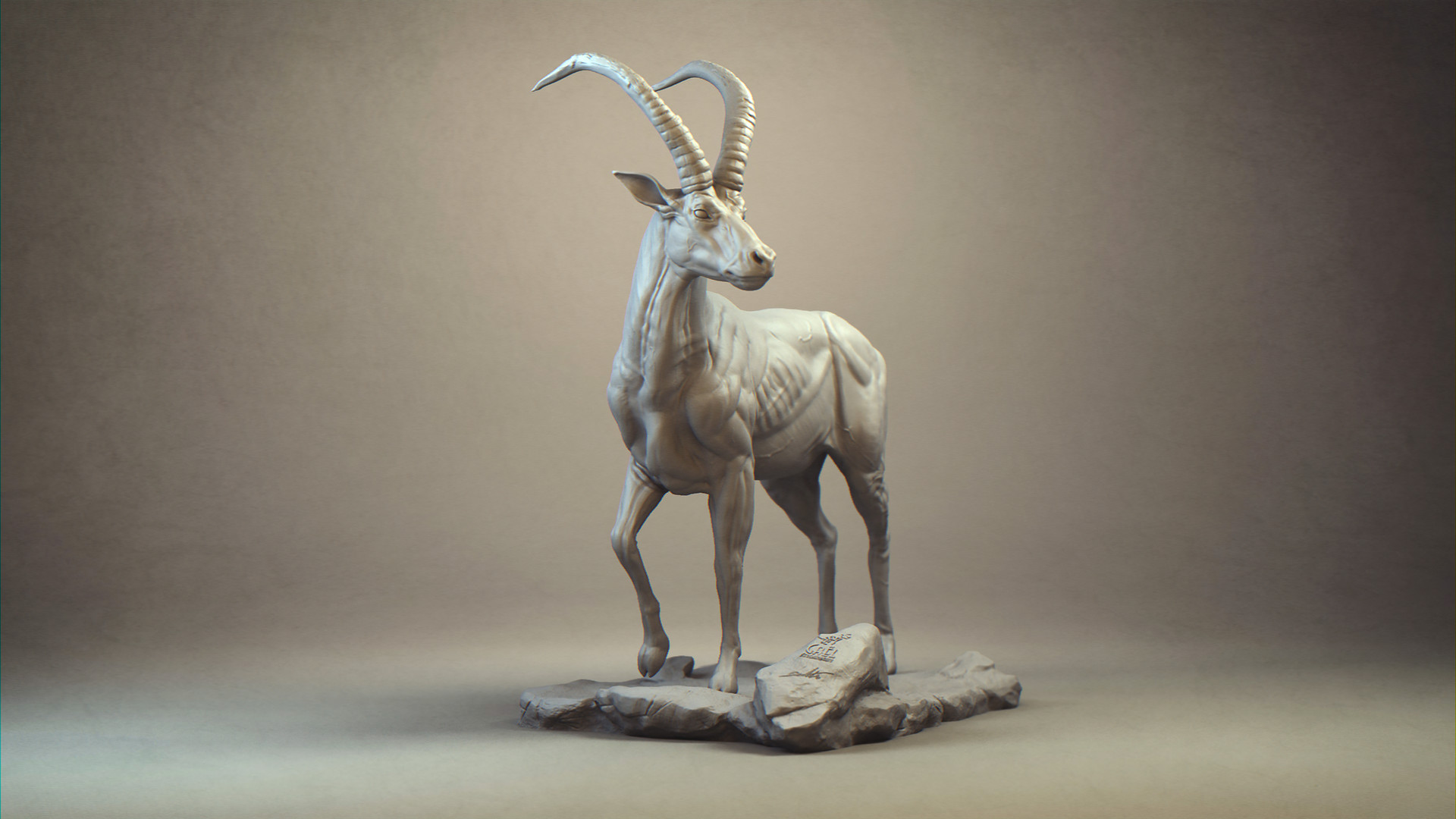 Gael kerchenbaum antelope presentation 001 clay