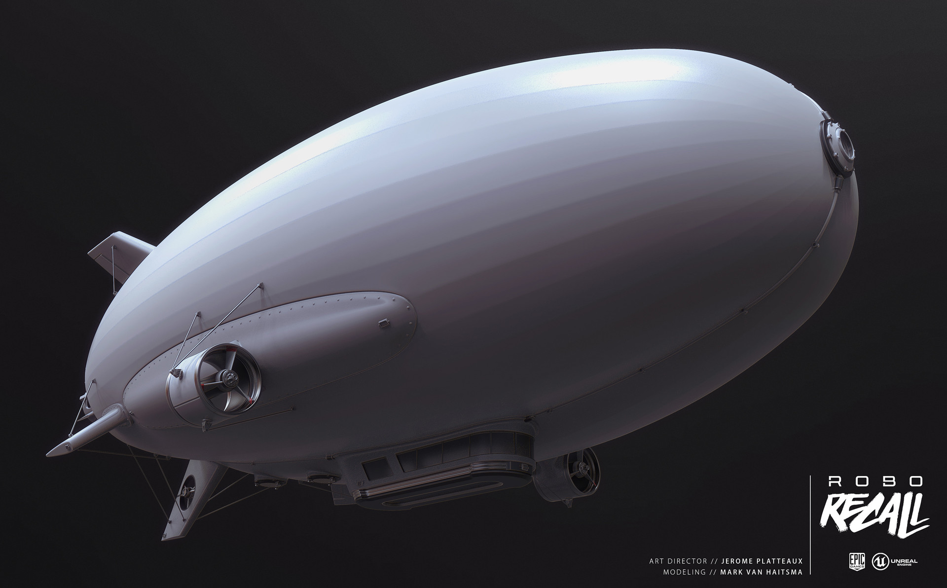 Mark van haitsma blimp bottom perspective
