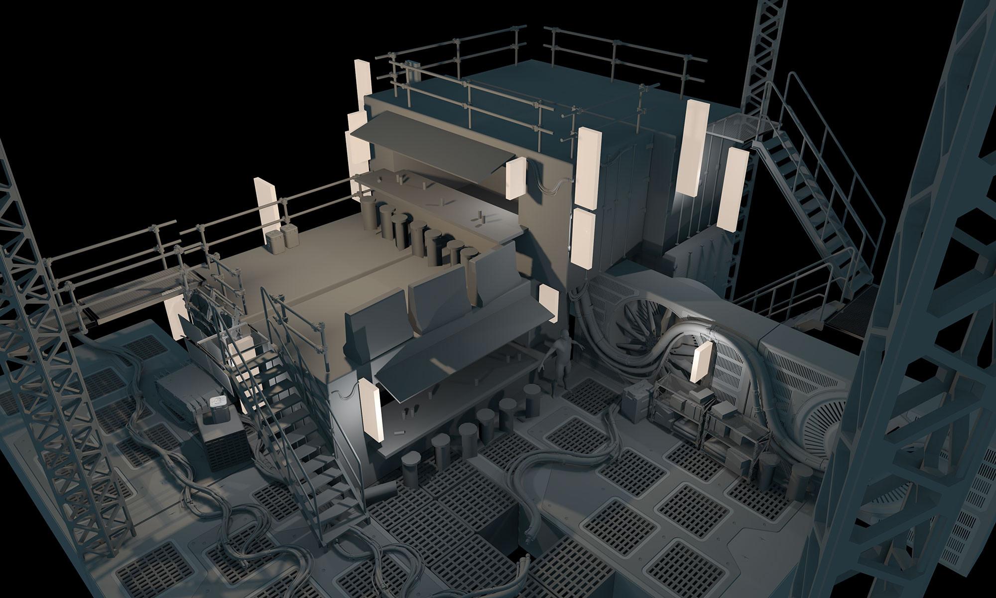 3D Block-In