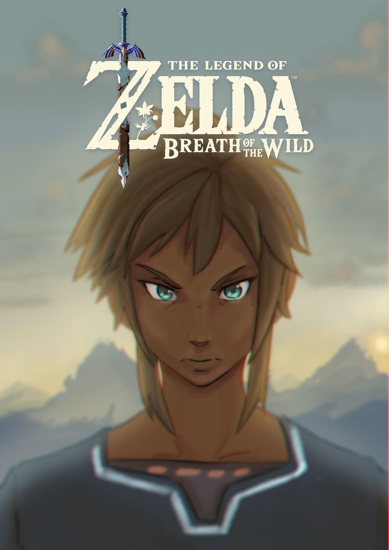 Artstation Link Legend Of Zelda Breath Of The Wild