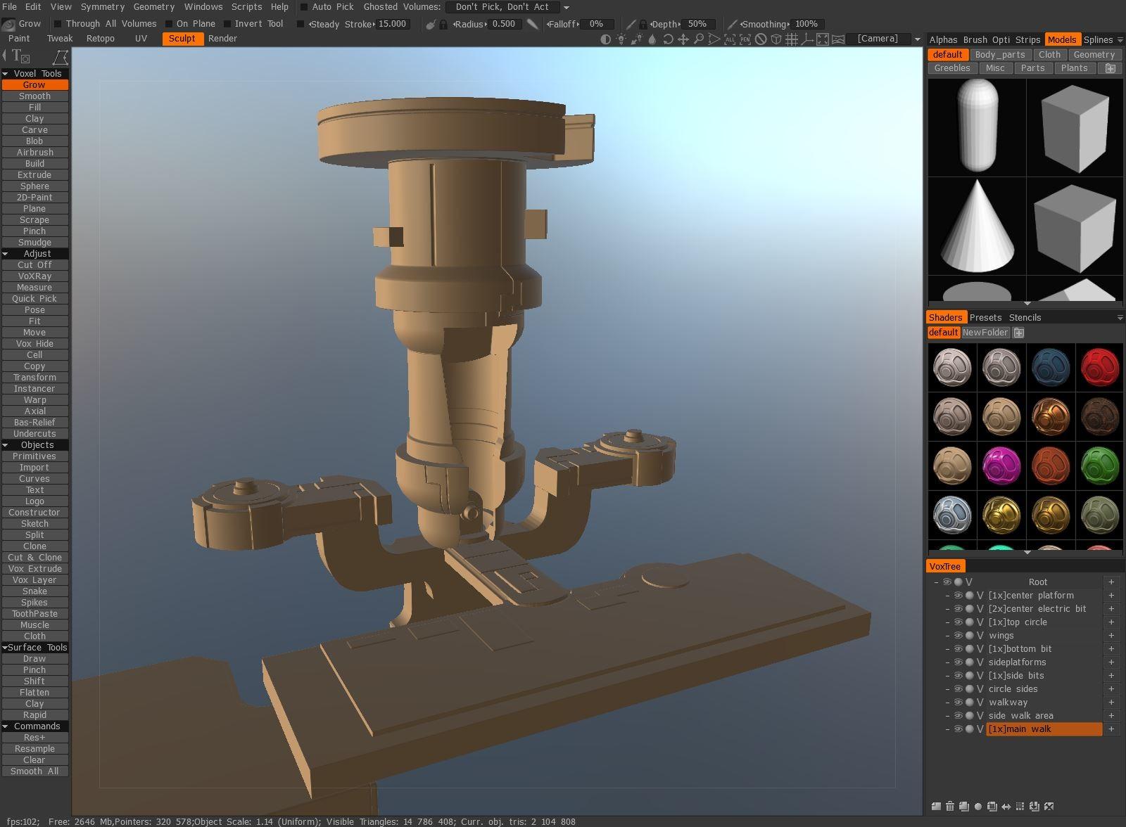 3D Coat Model - Tim Kaminski
