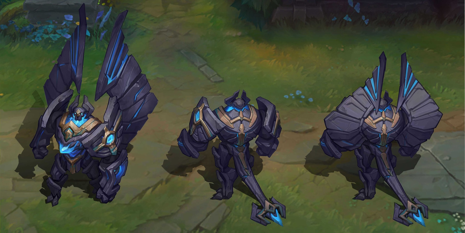 ArtStation - League of Legends-Enchanted Galio skin ... - photo#41