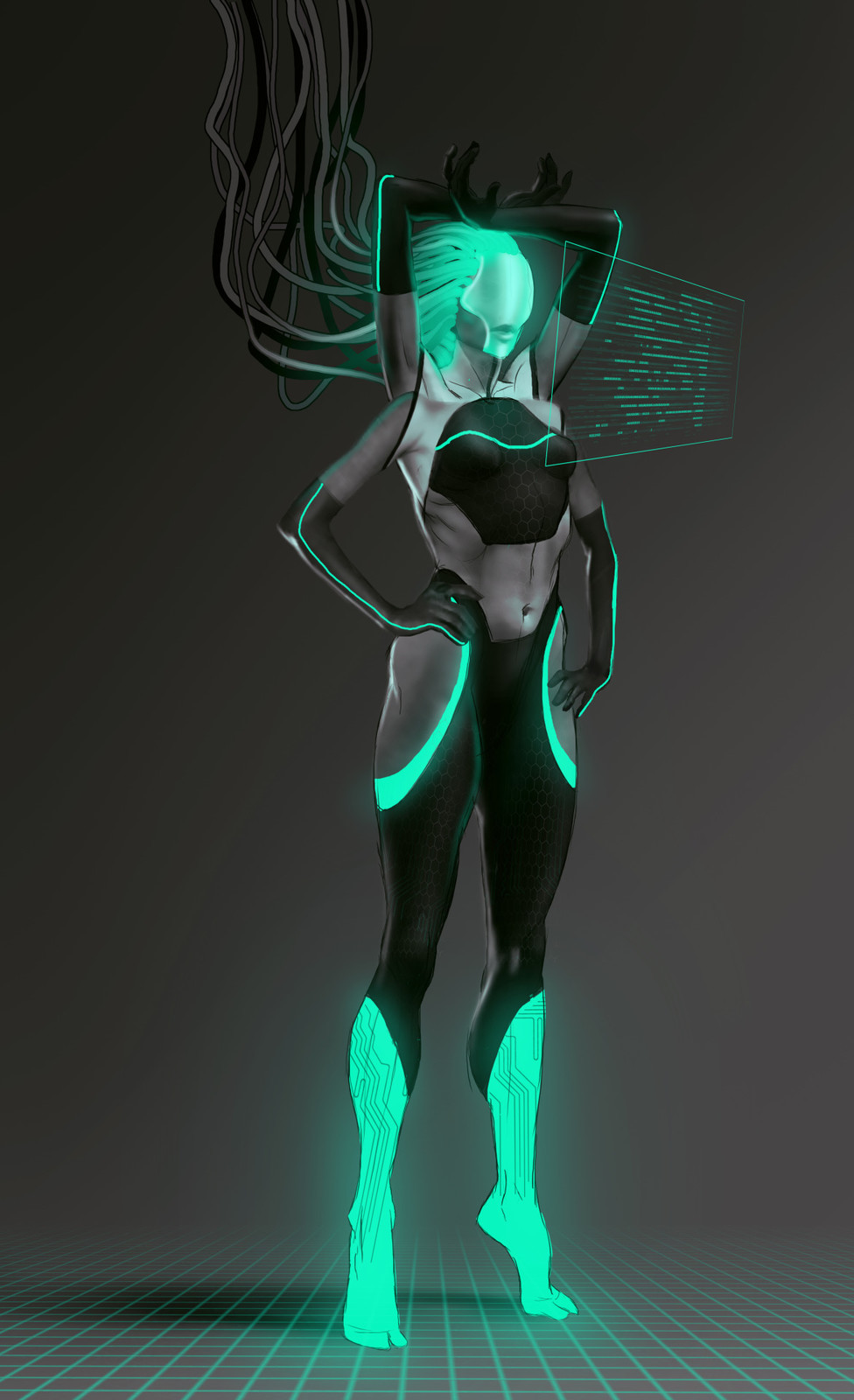 Assignment was a Sci-Fi character