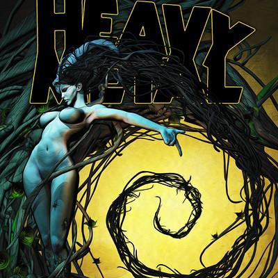 Fabio listrani heavy metal magazine 282 by fabiolistrani