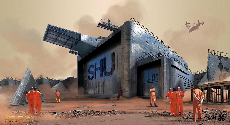 Yohann schepacz oxan studio prison shu01 wip02