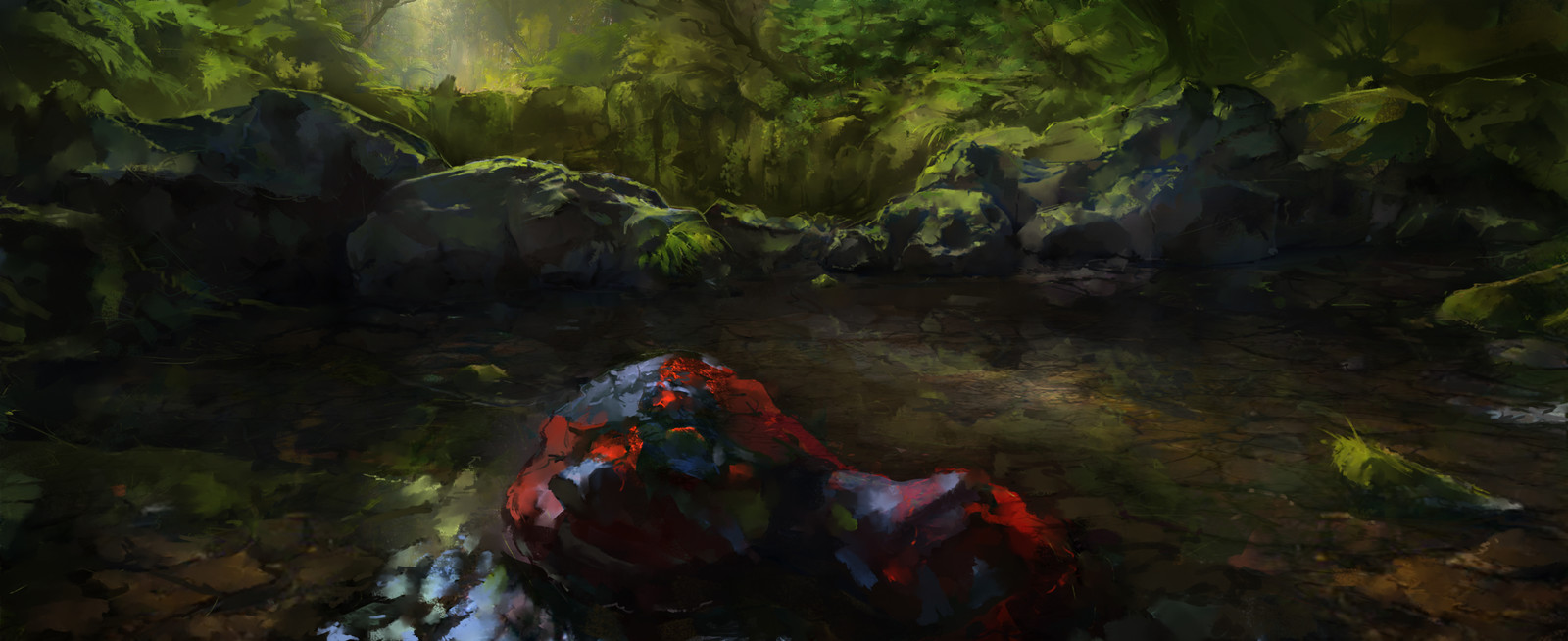 Blood & Magic: Junglepond Concept