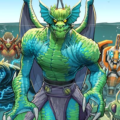 David nakayama monsters unleashed 1000v