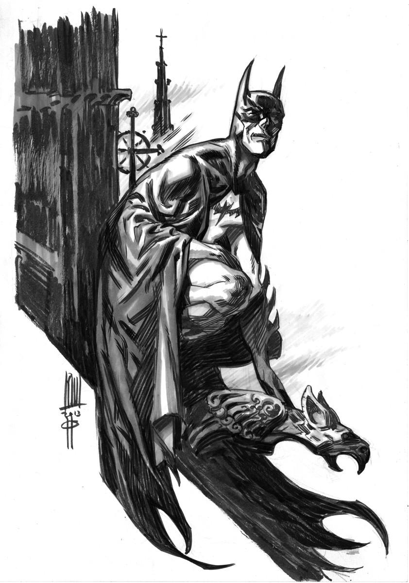 Roberto ricci batman3