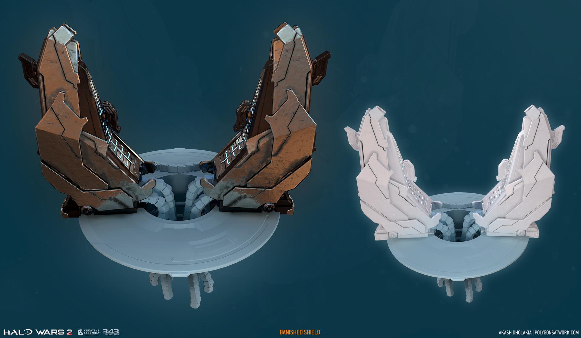 Akash dholakia halo wars 2 shield 01