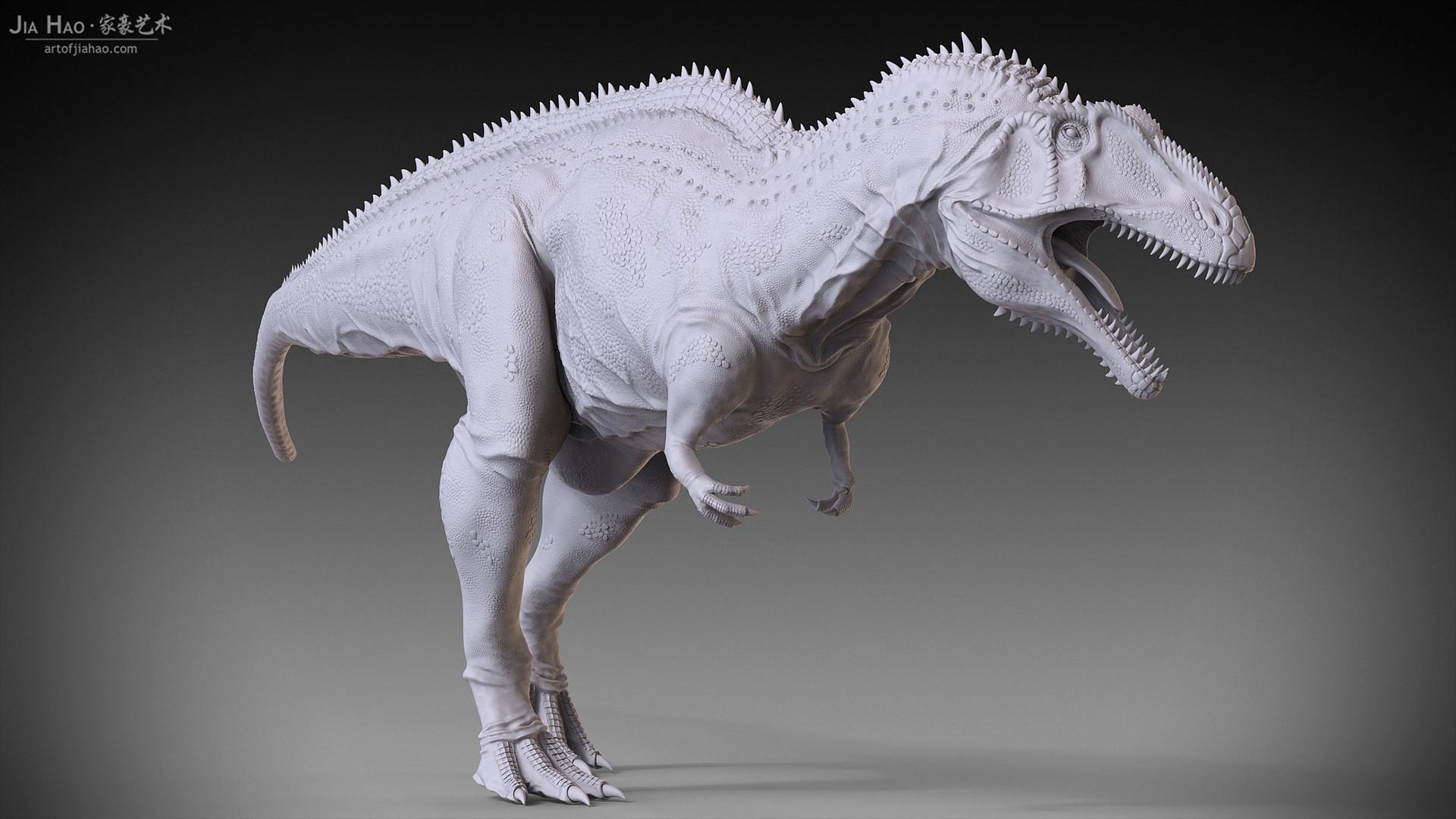 Jia hao acrocanthosaurus 01