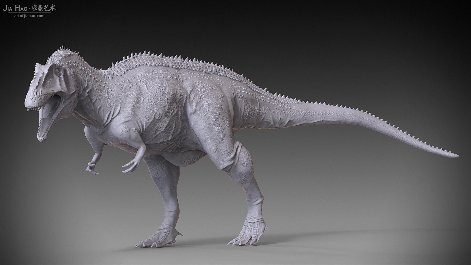 Jia hao acrocanthosaurus 03