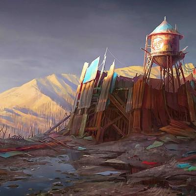 Ilya nazarov water tower fallout4 bethesda edit2