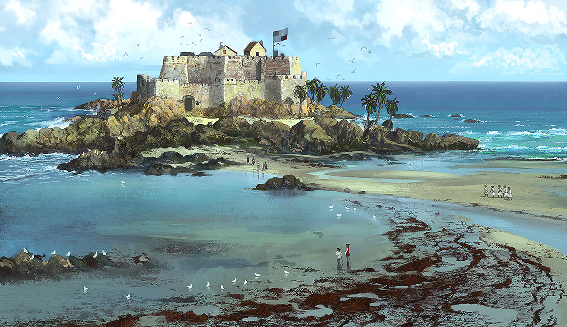 Edouard groult fortress beach 90