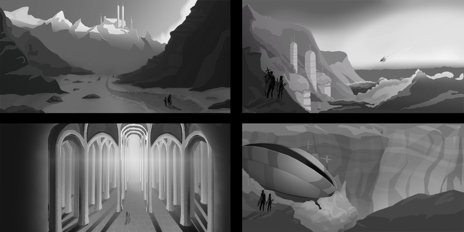 Lost castle concepts futrure
