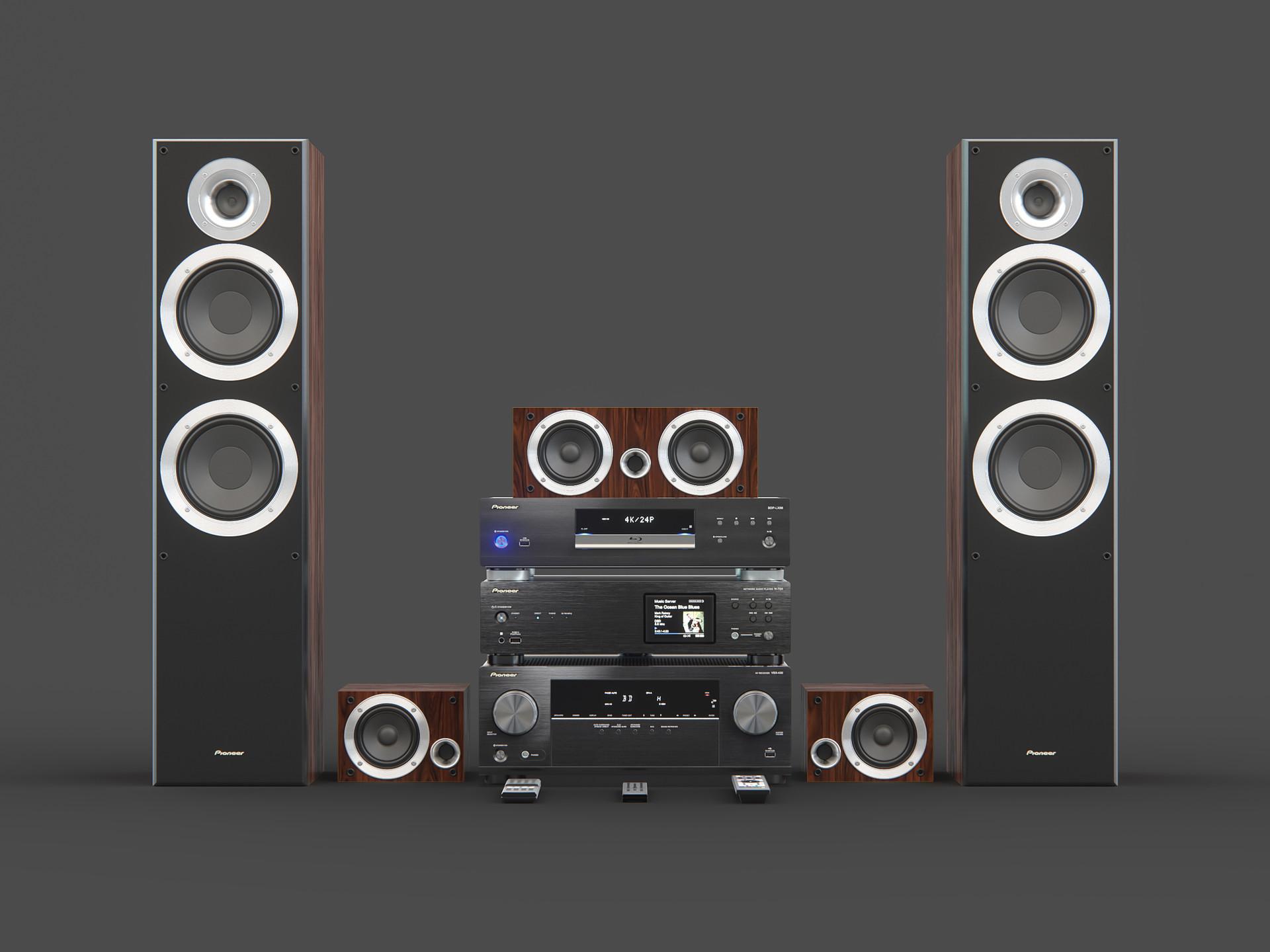Maksim Ganzha - Pioneer home audio collection
