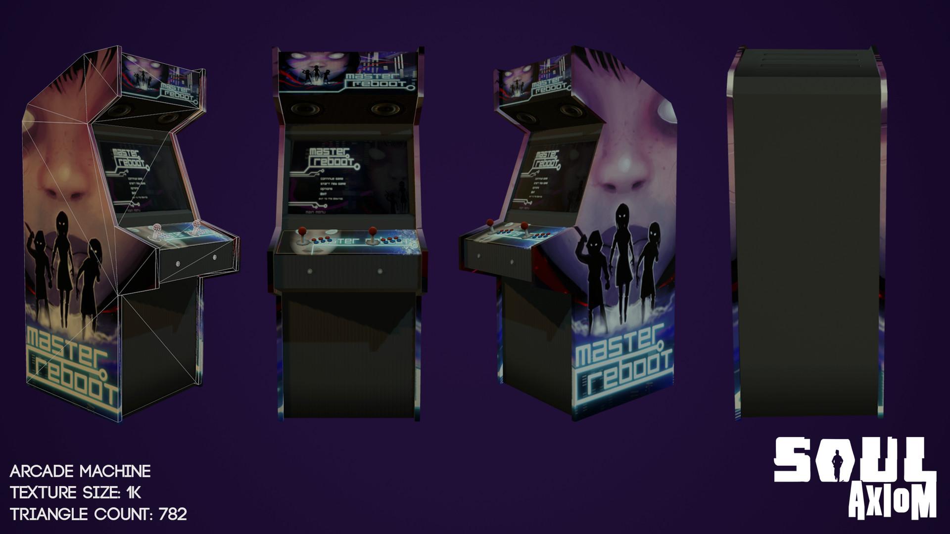 Martin giles arcade machine 002