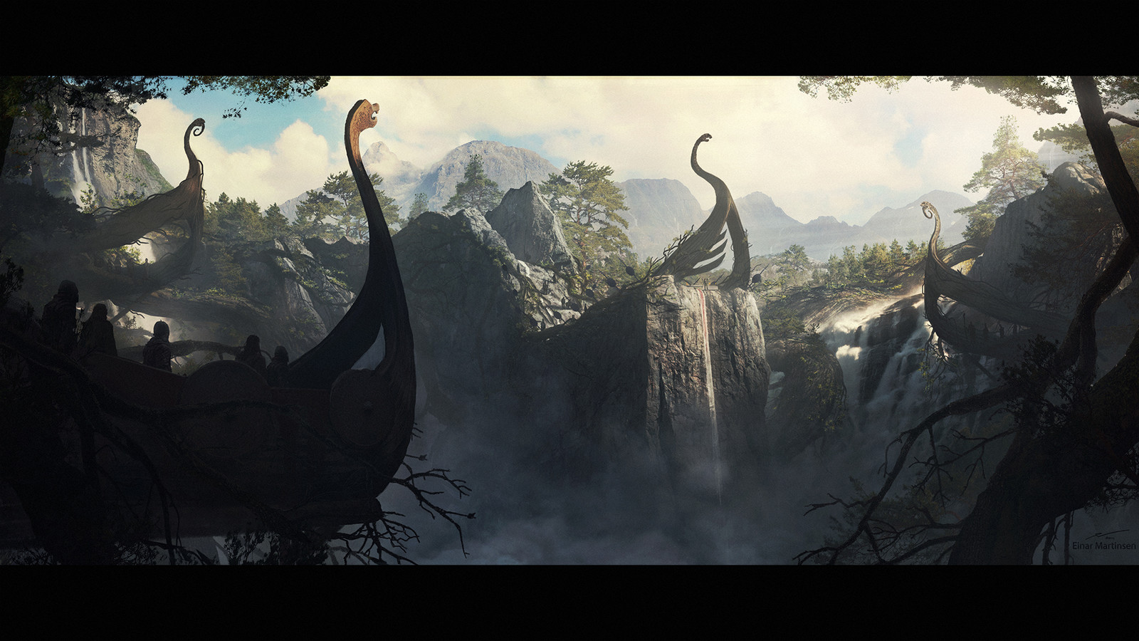 Production design course with Dylan Cole - Artwork by Einar Martinsen - Sacred place, shot 04
