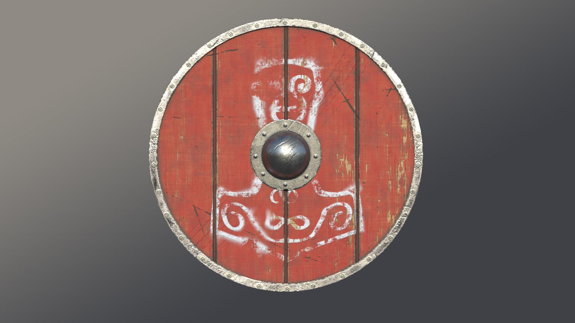 Luke Hughes Viking Shield