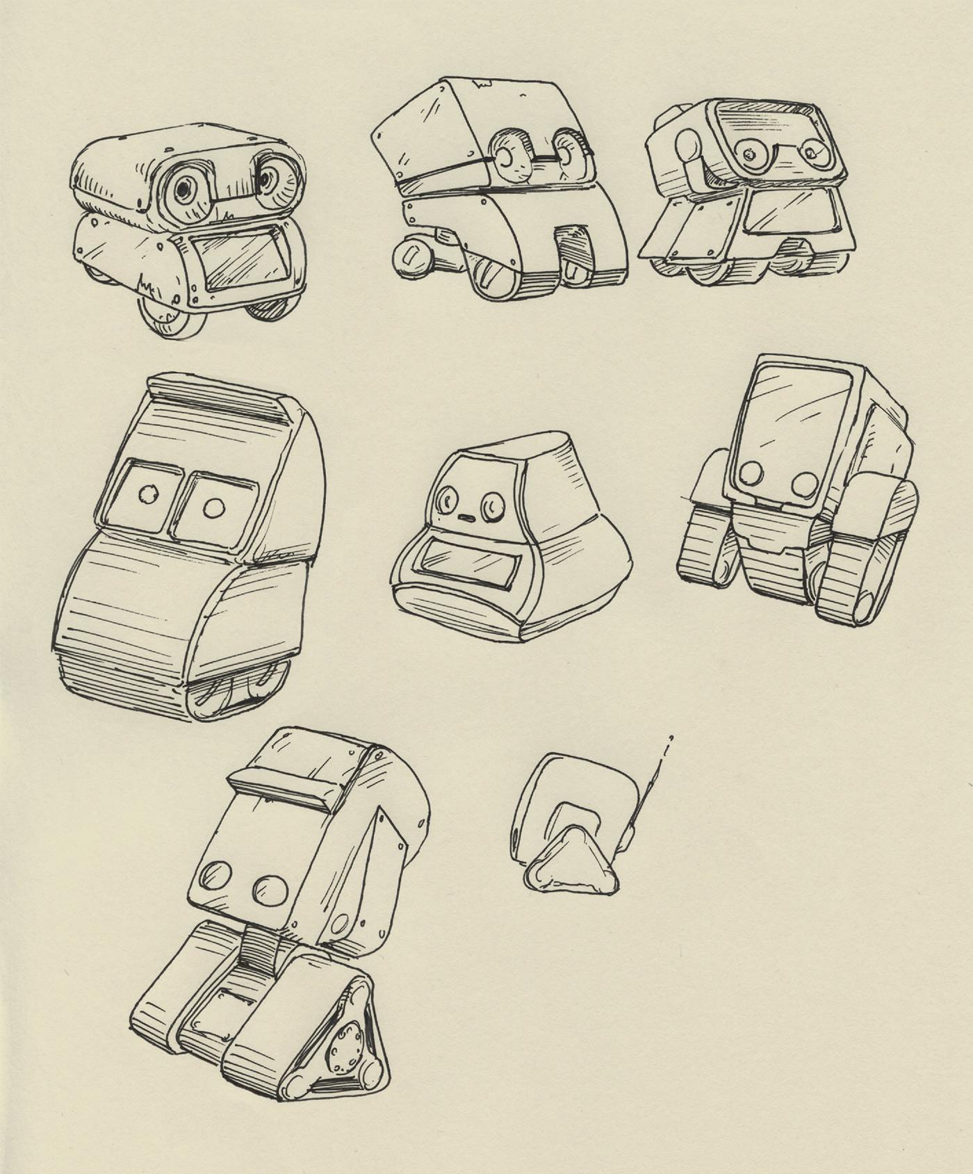 Dirk wachsmuth 03 babybot sketches 02s