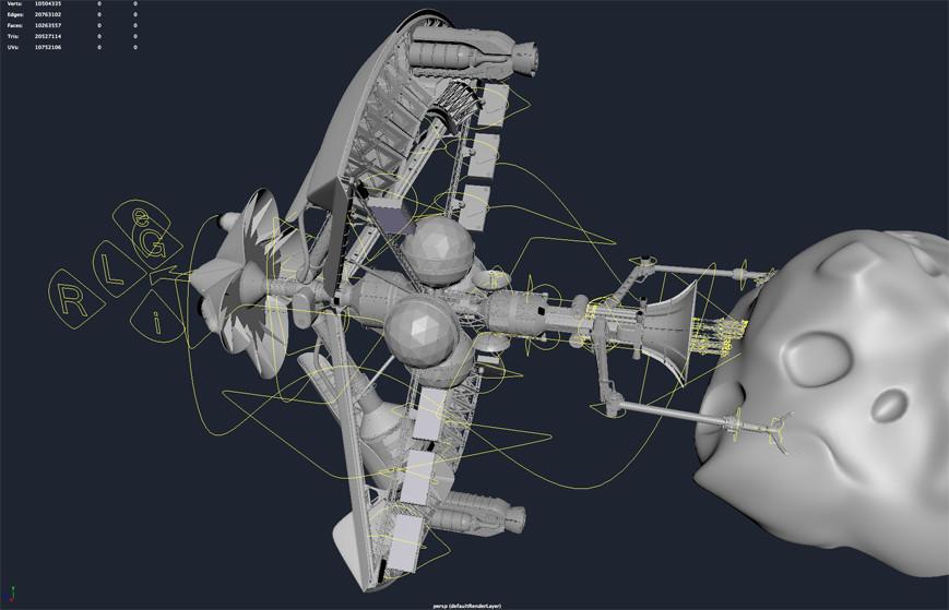 Sergio botero tflp ipv high resolution model v14 rigged model