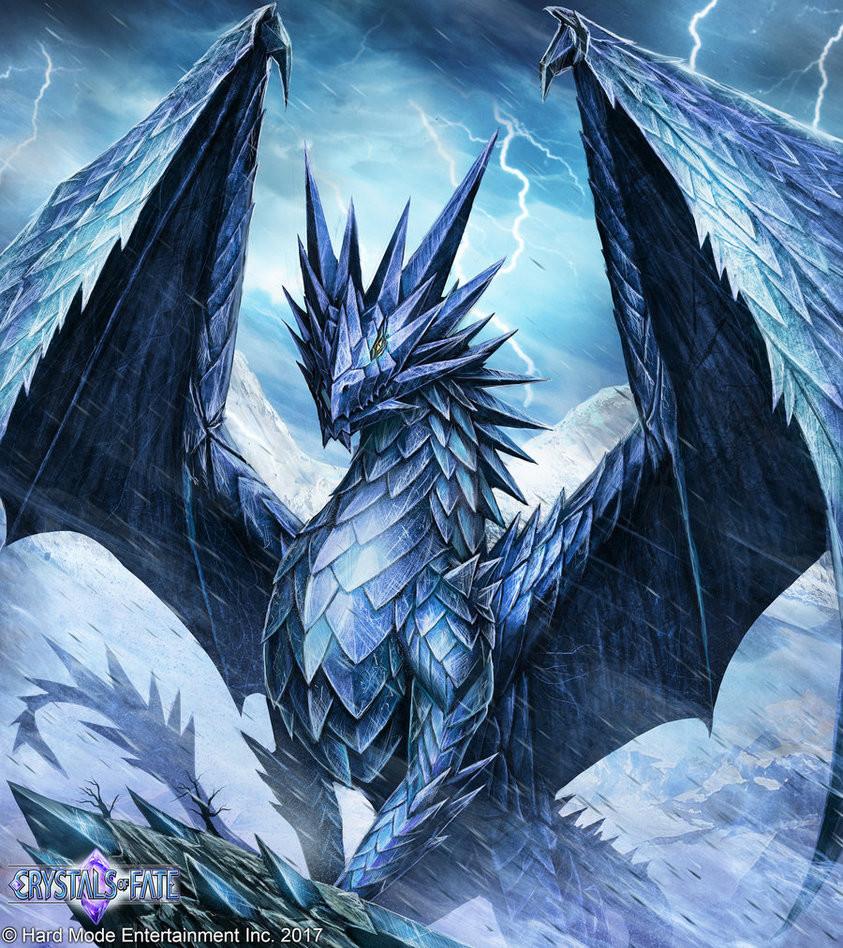John stone frost dragon by john stone art db1w5q7