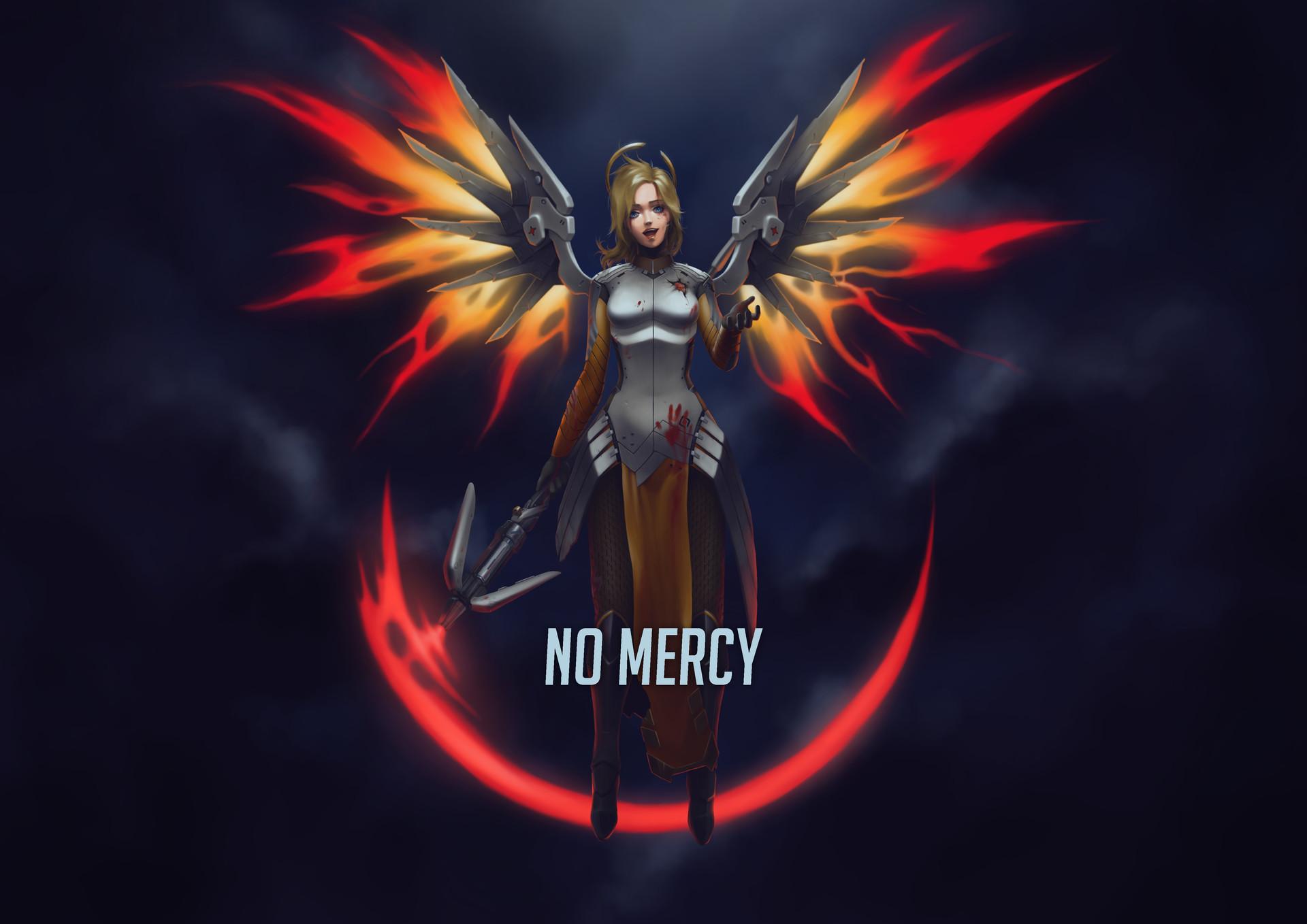 Artmancer Imaginarium No Mercy Overwatch Wallpaper Fan Art