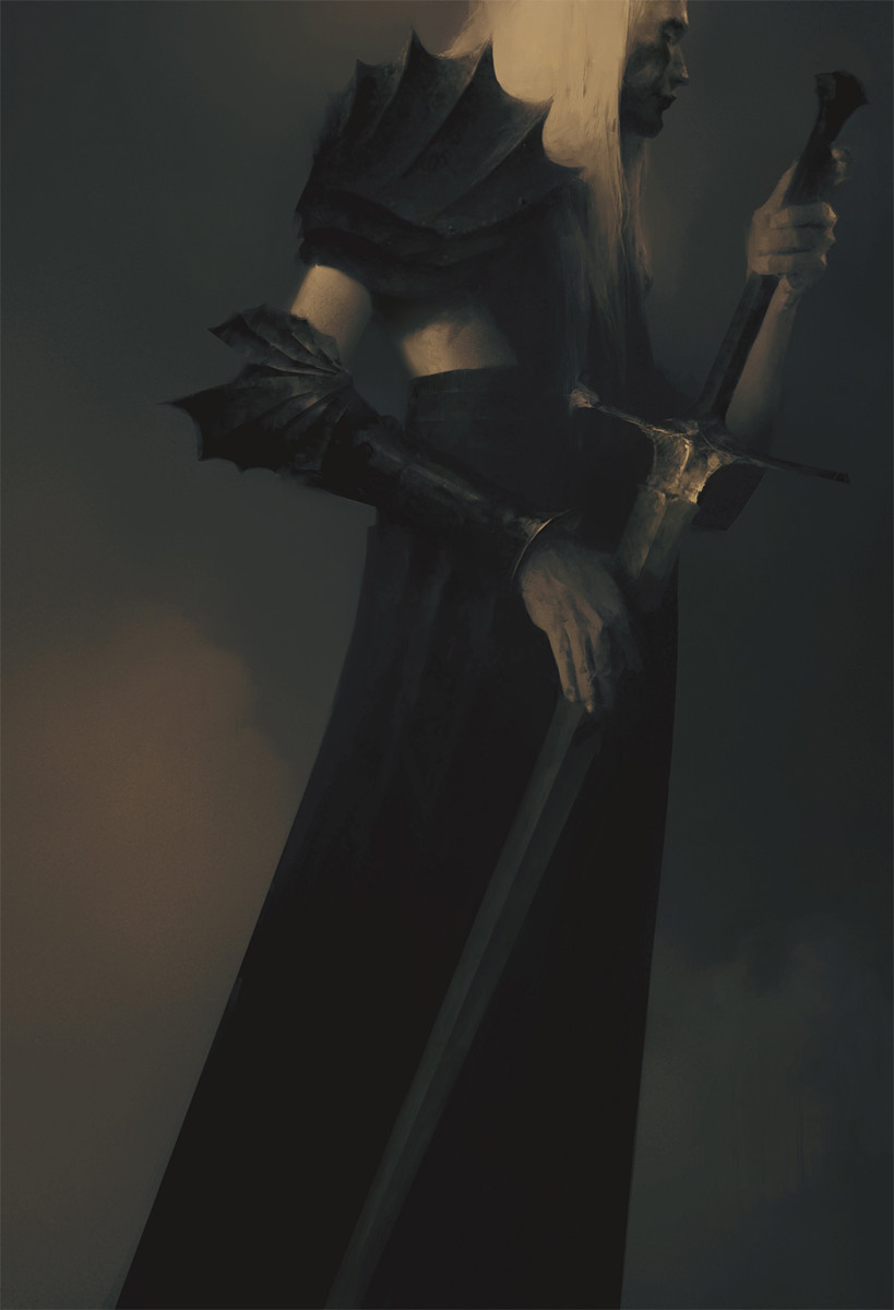 Two Black Swords