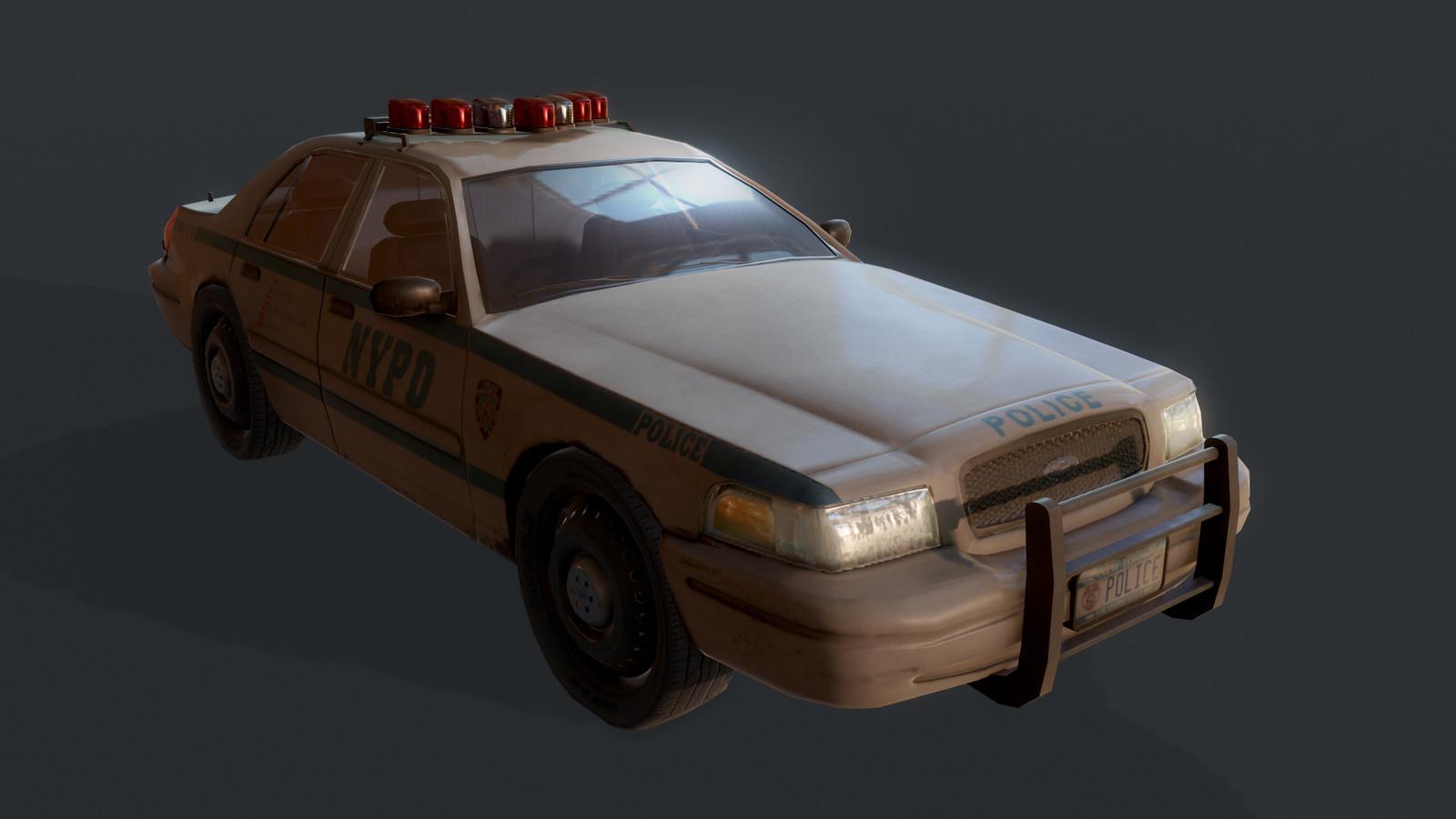 NYPD Sedans