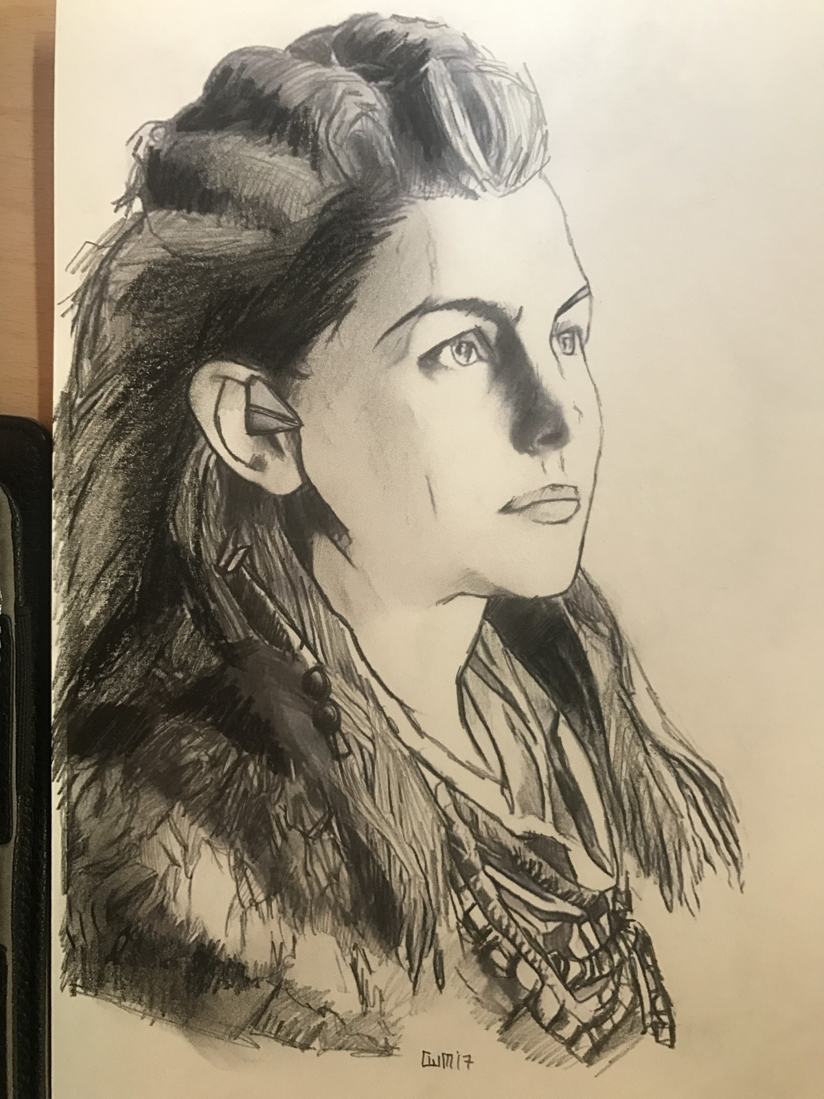 Horizon: Zero Dawn sketch