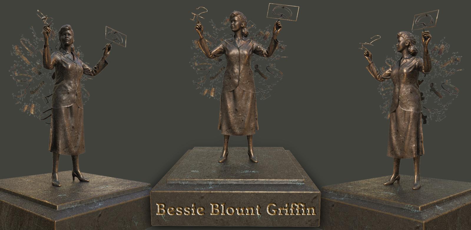 Bessie Blount Griffin, inventor & physical therapist.