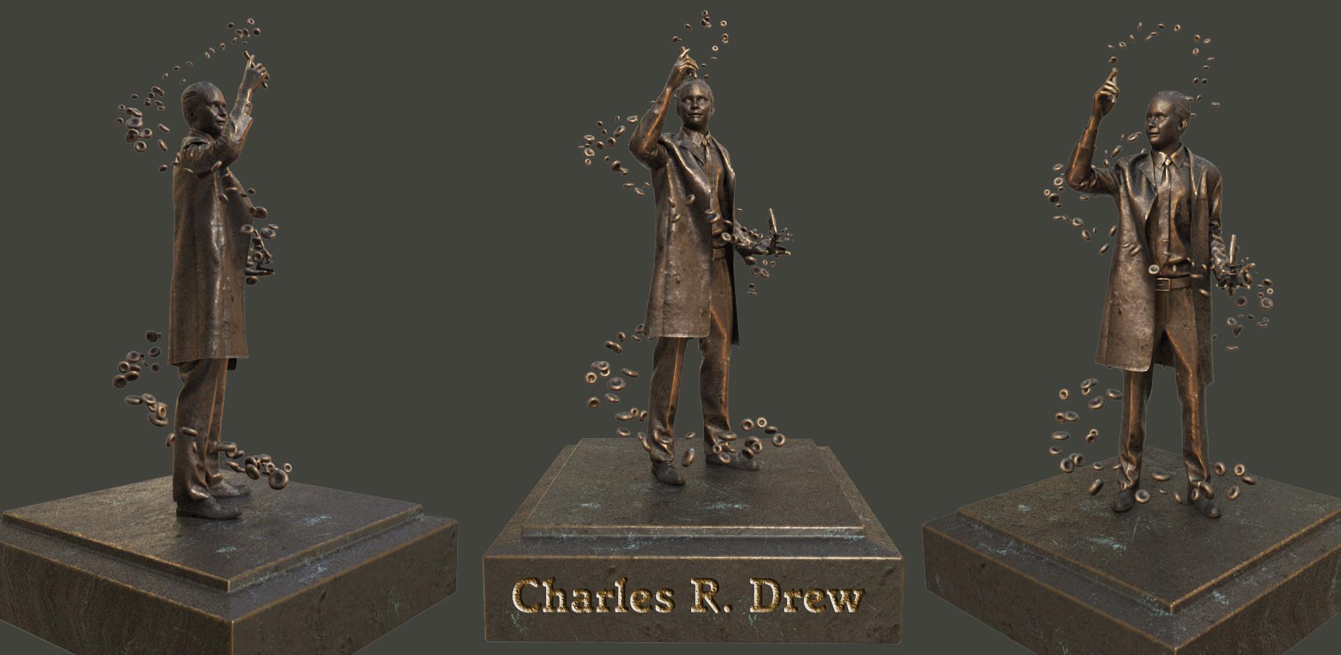 Charles Drew, physician & pioneer of blood preservation methods.
