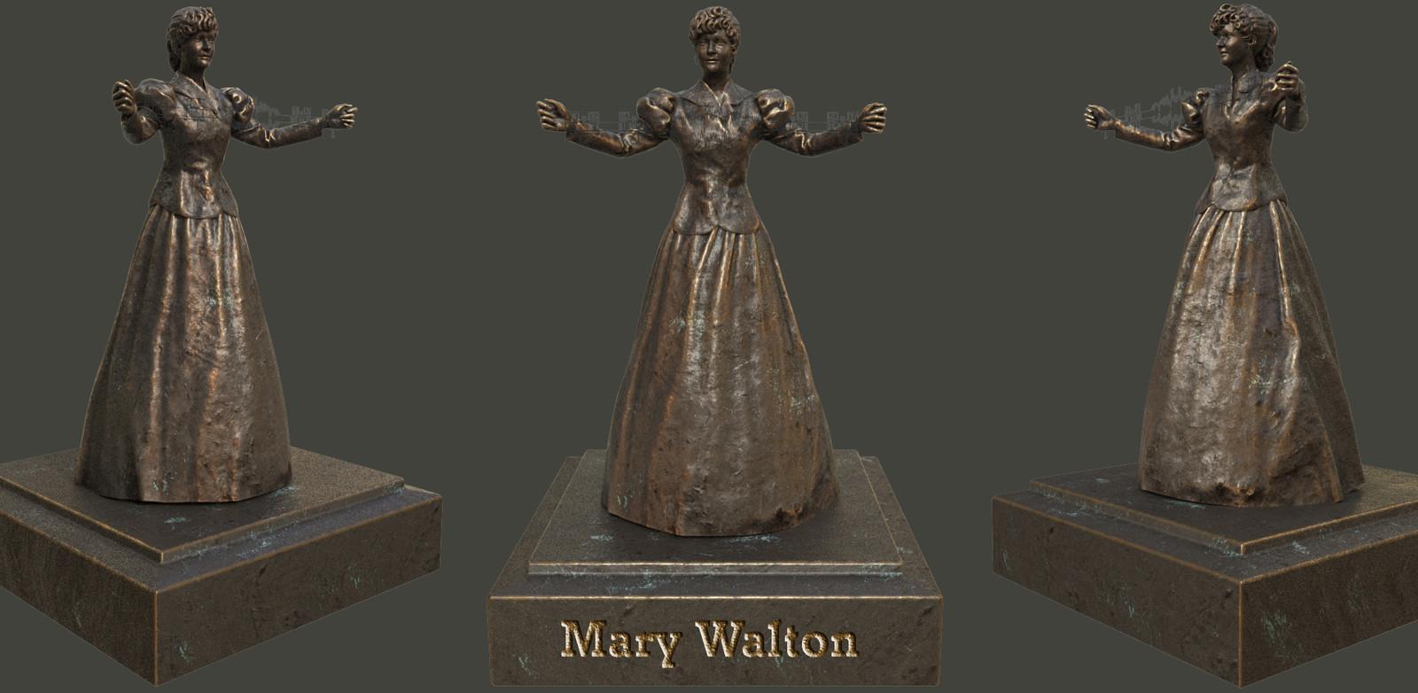 Mary Walton, inventor & engineer.
