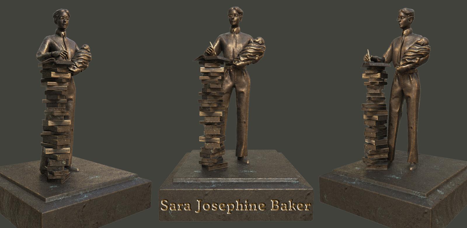 Sara Josephine Baker, physician & pioneer of preventative medicine.