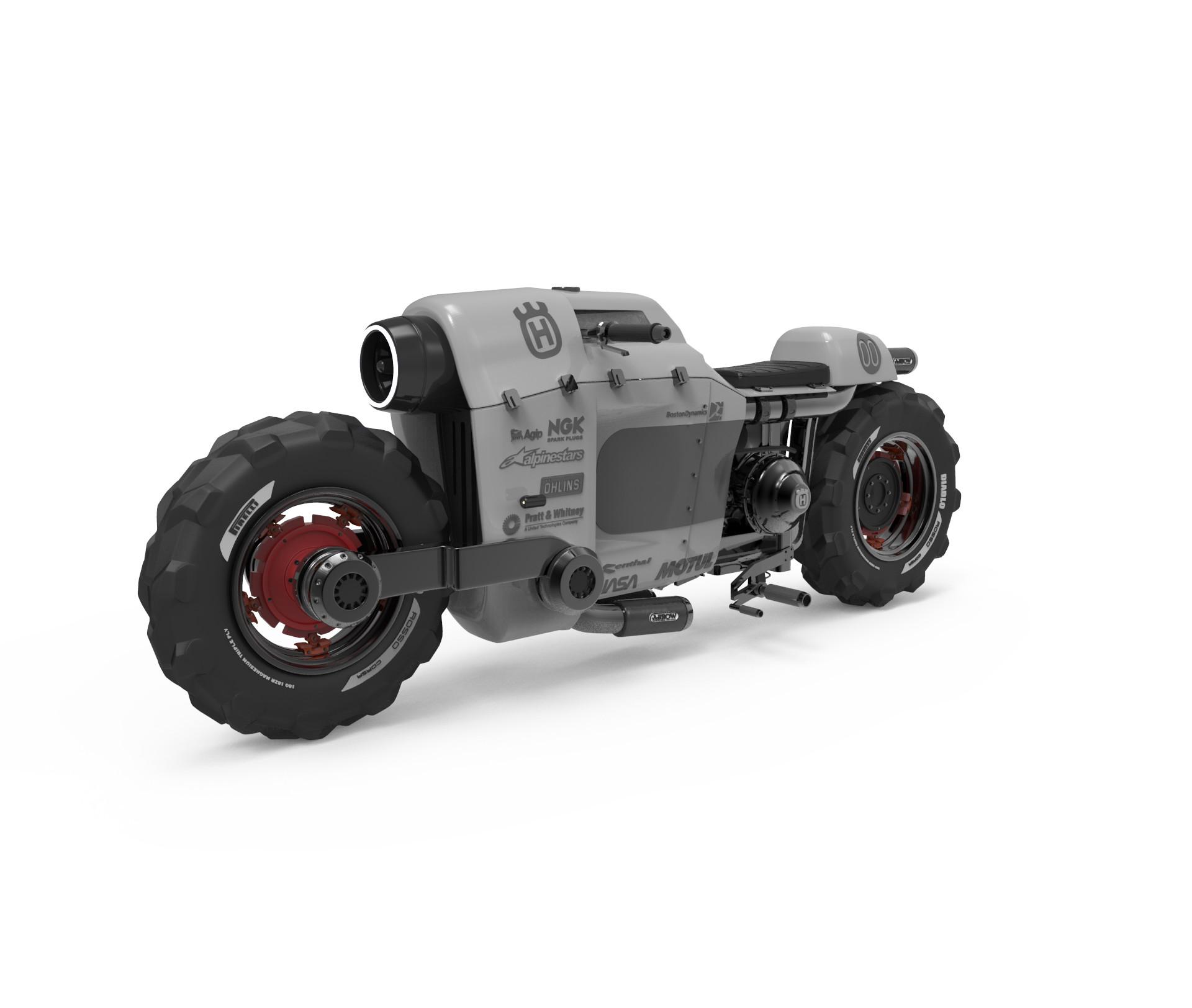 Albert carranza tractorbikesilver