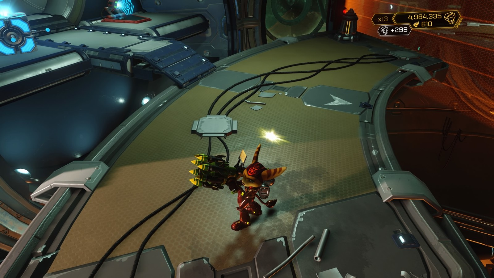 Reference image used.  Copyright for Ratchet and Clank belongs to Insomniac Games.
