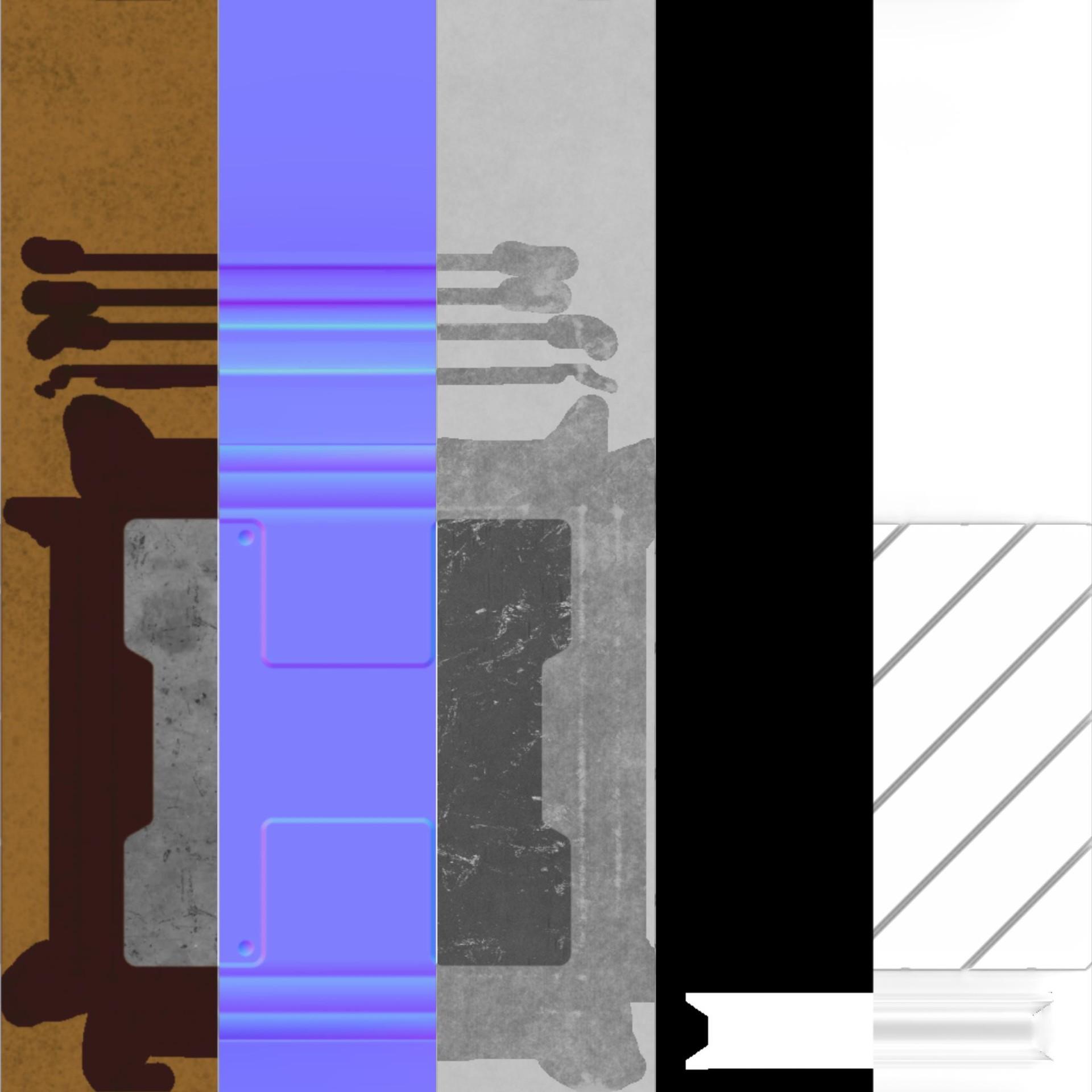 Alex schwartz bolt crate texture cutaway