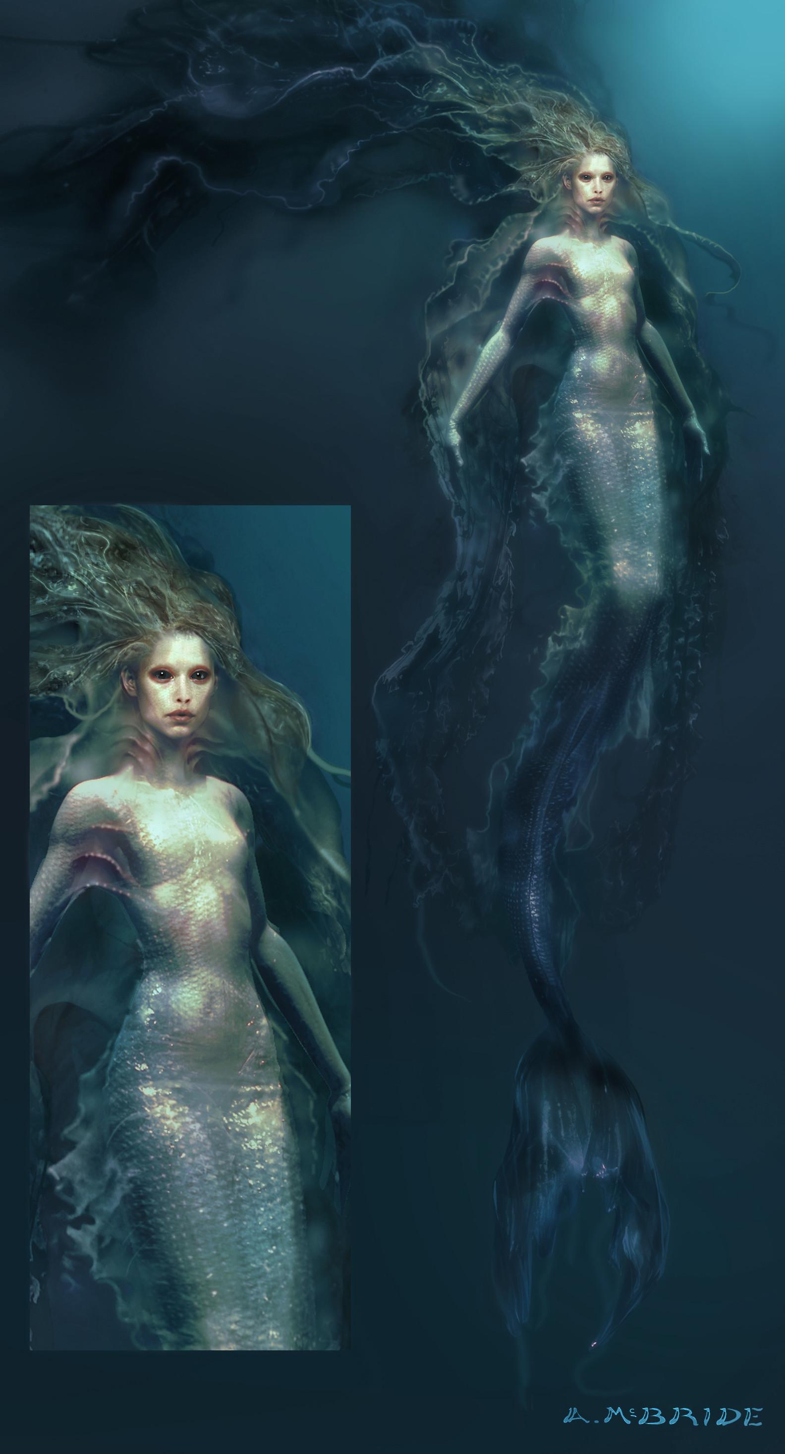 Aaron mcbride mermaid fullbody approved