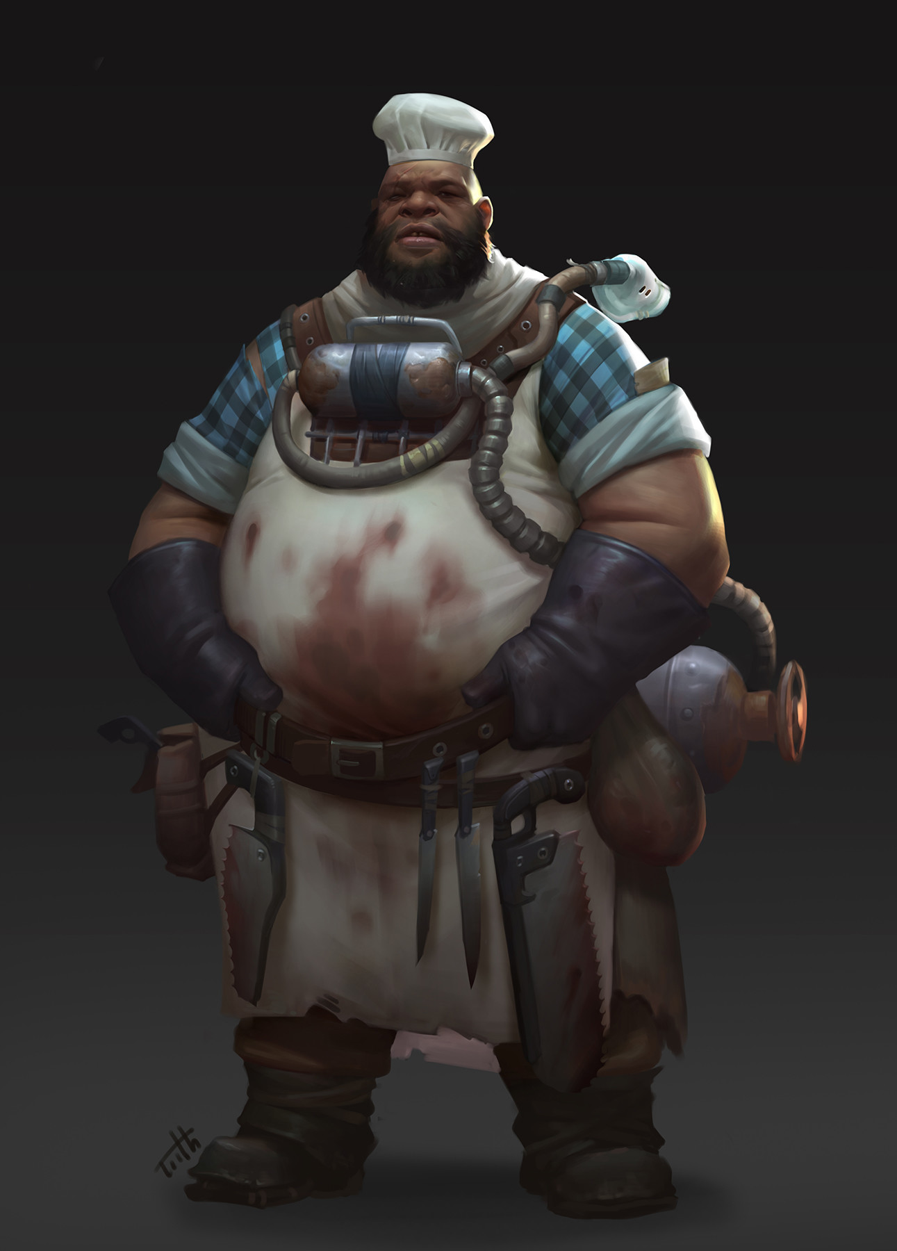 ArtStation - Chef and doctor, Tooth Wu