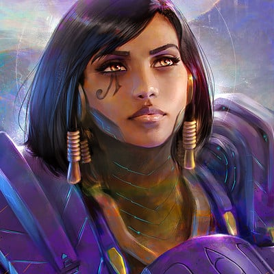Pharah - Overwatch Portrait