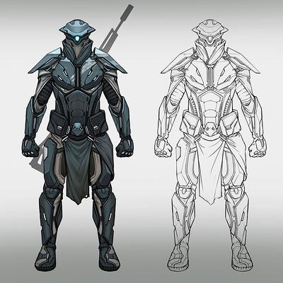 Evozon game studio sci fi concept norby