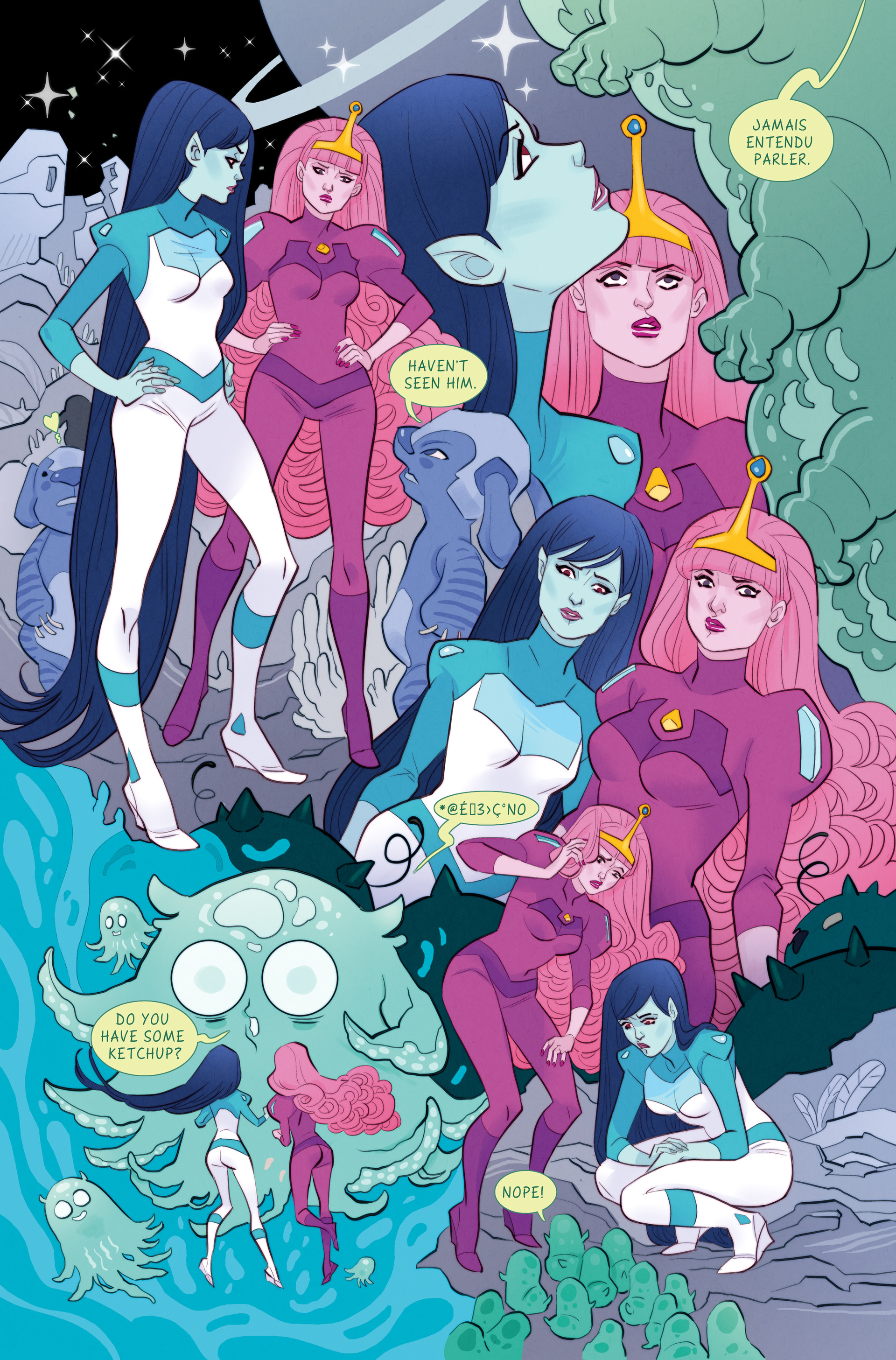 "Adventure Time - short story ""Lost in Space"" for Adventure Time comics published by Boom Studio."