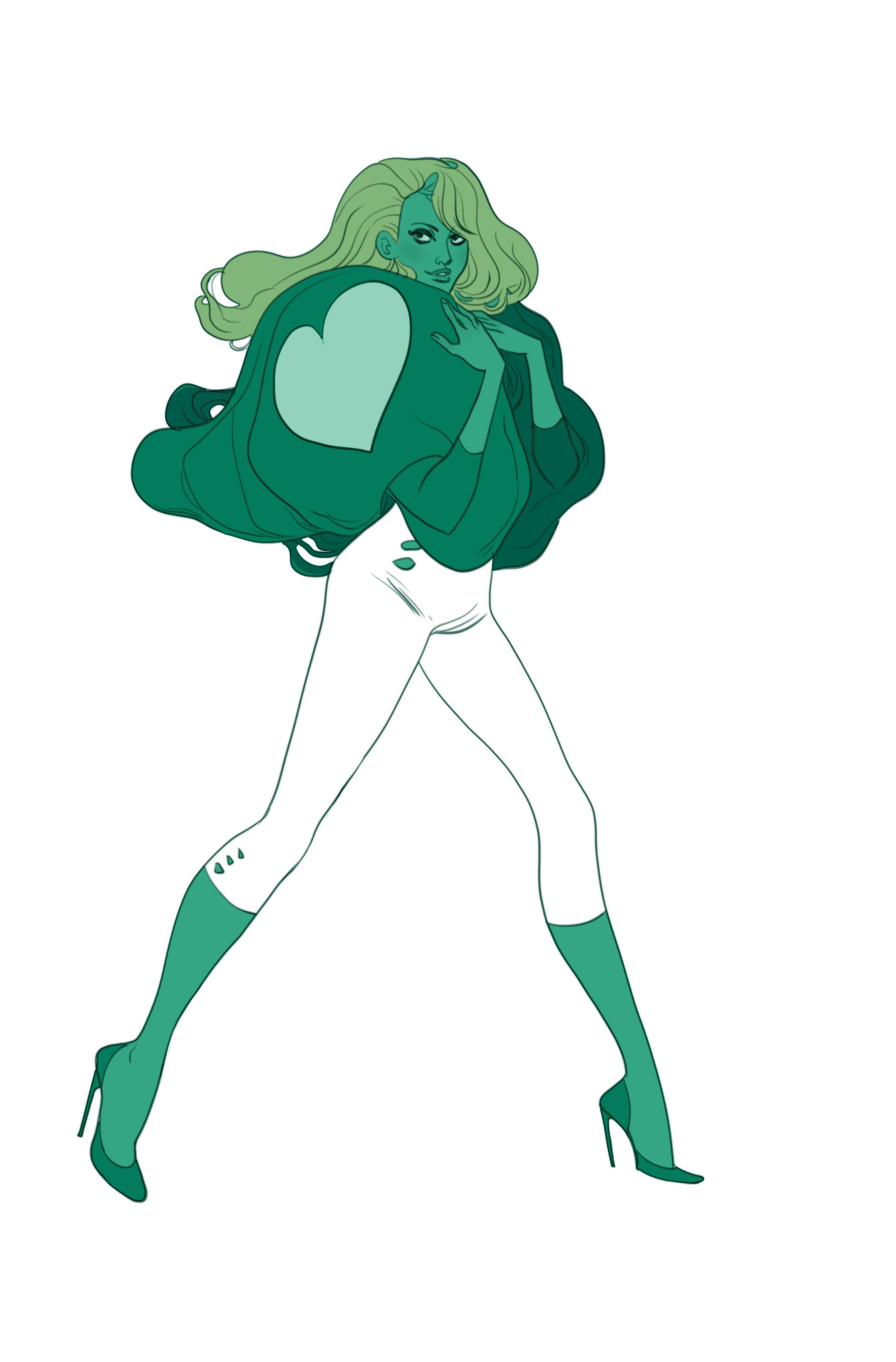 Be Magazine - Love Ladies - characters design