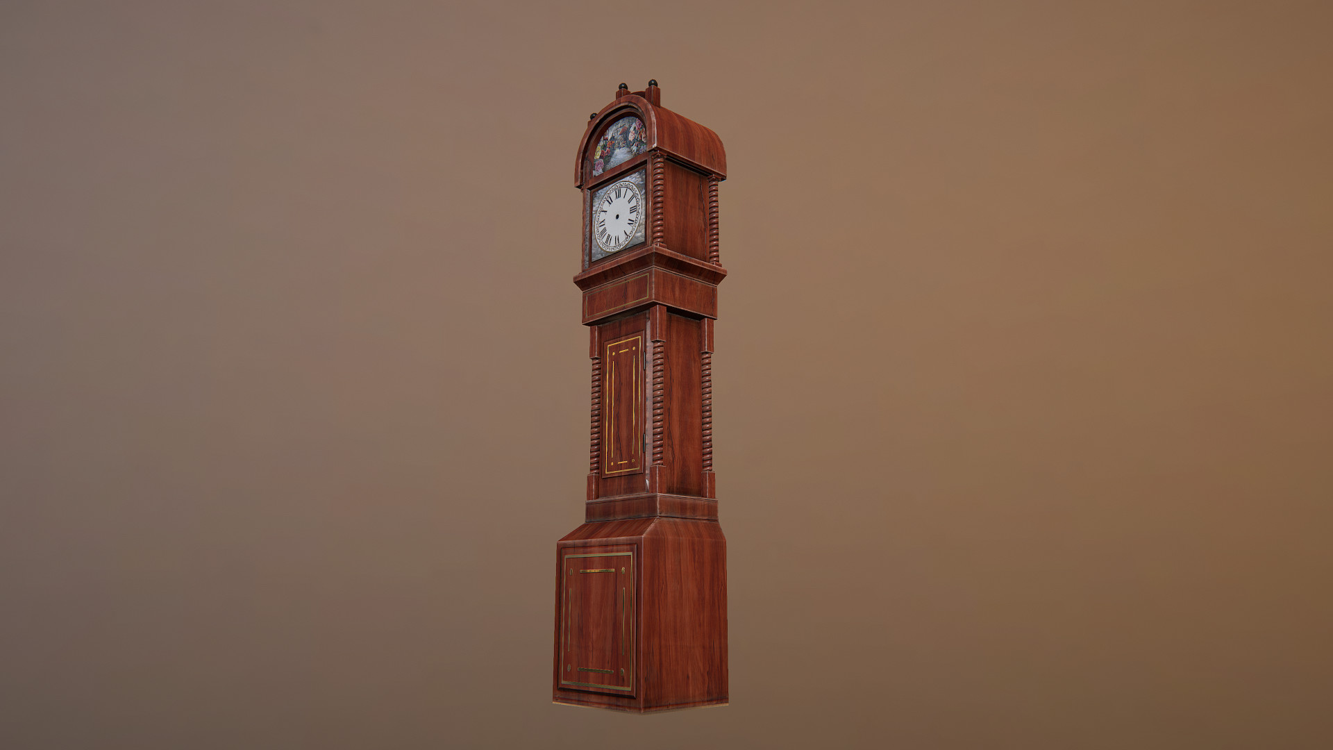 Alex Hall Grandfather Clock Alice In Wonderland