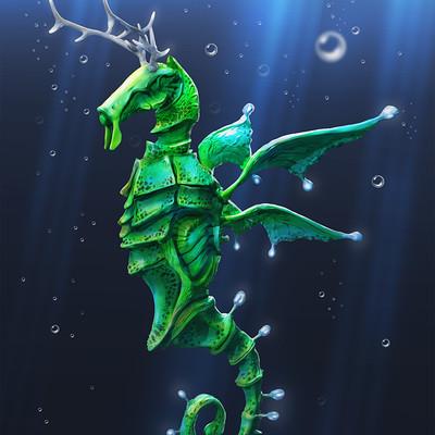 Igor puskaric seadeer illustration half size