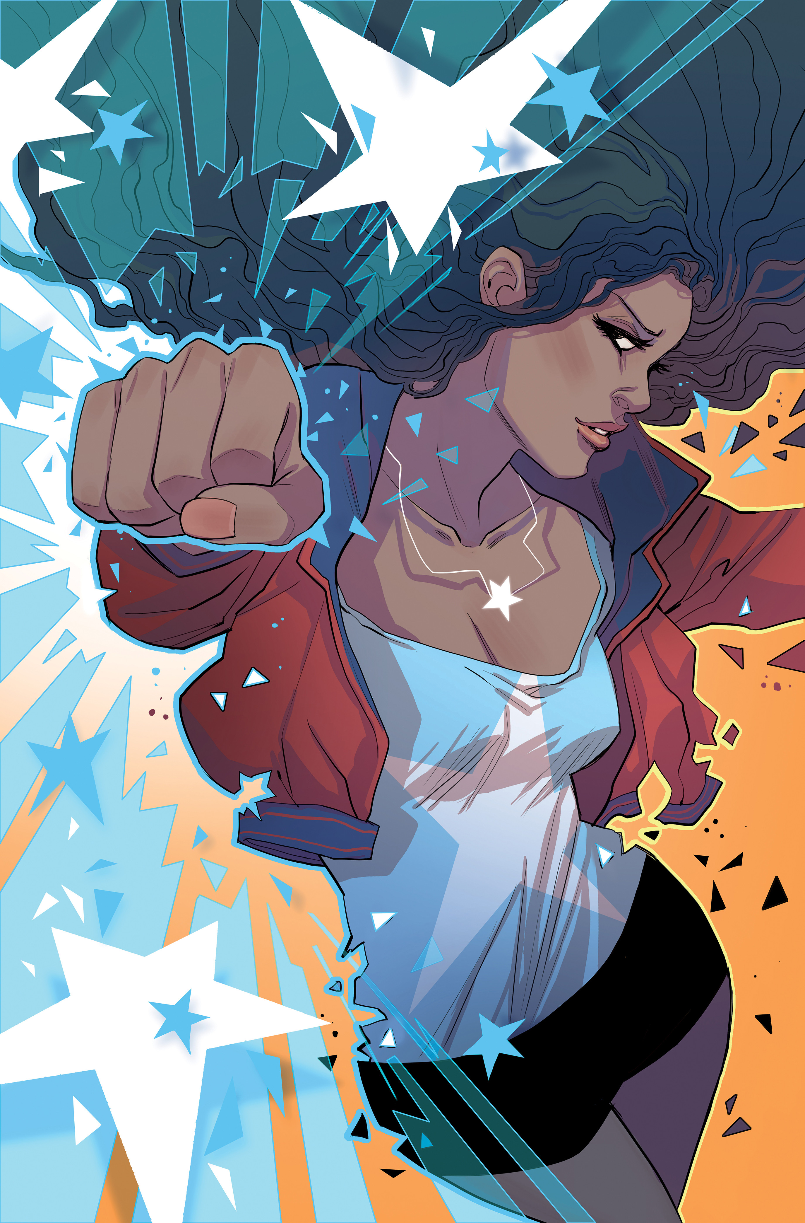 Marvel Miss America cover